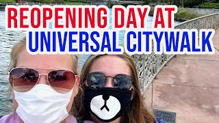 Universal CityWalk Opening Day Live!