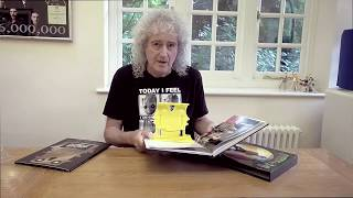 "Brian May Unboxing ""Queen in 3-D"" Italian Edition"
