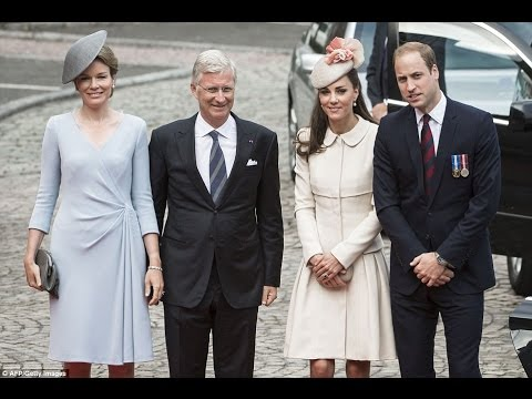 Prince William and Kate Middleton Travel to Belgium for World War I - Commemorative Events 'WW1'