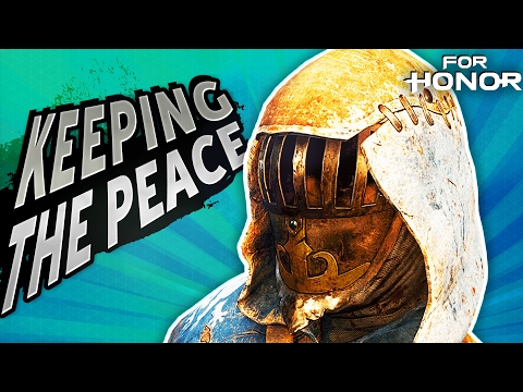 Keeping The Peace in 4v4 DOMINATION! | For Honor - Peacekeeper Gameplay