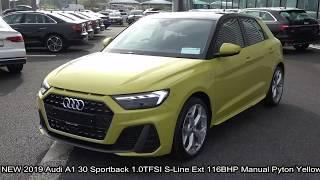 CMG AUDI SLIGO: NEW 2019 Audi A1 30 Edition S-Line 116BHP Manual Python Yellow