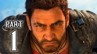 JUST CAUSE 3 Walkthrough PART 1 + GIVEAWAY Gameplay (PS4) No Commentary @ 1080p HD ✔
