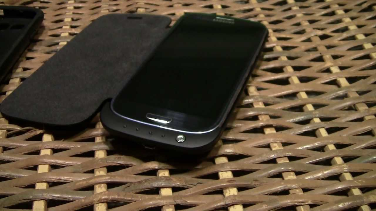 huge selection of dbae7 2ba66 Samsung galaxy S3 extended battery case - Review