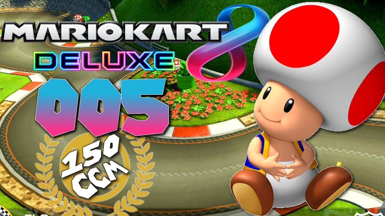 TOAD the WINNER | MARIO KART 8 DELUXE