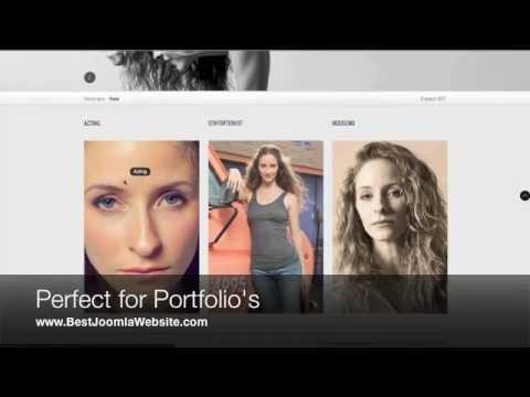 Best Joomla Websites - Portfolio Templates