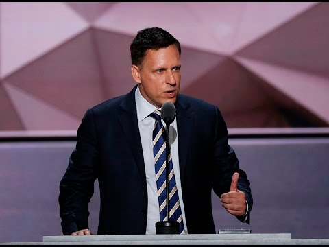 Watch PayPal co-founder Peter Thiel's full speech at the 2016 Republican National Convention