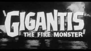 Godzilla Raids Again (Gigantis: The Fire Monster) 1955 Trailer