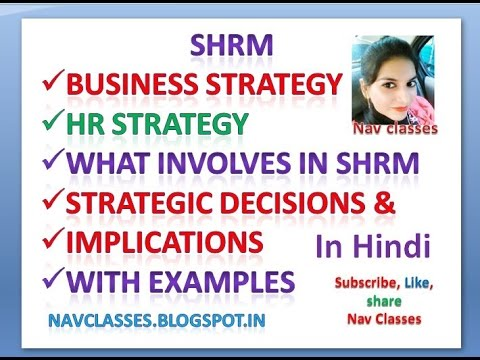 All about SHRM With examples Class 8