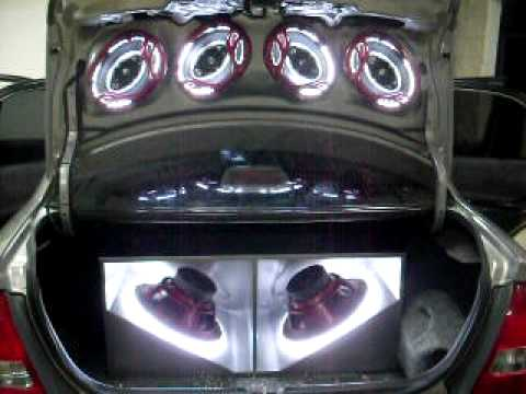 Scape Car Audio Mazda Allegro Gris Youtube