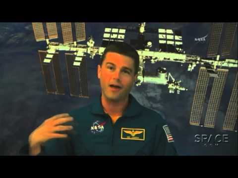 Free Time In Space? Astronaut Tweets Friends For Suggestions | Video Interview