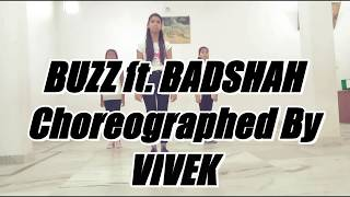 Buzz ft. Badshah | Aastha gill | Dance Choreography | Radiant academy