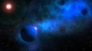 Free HD Stock-footage - Space/Planet/Galaxy Scene