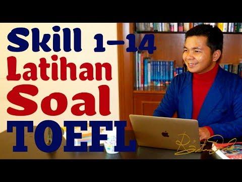 Latihan Soal TOEFL (Skill 1-14)