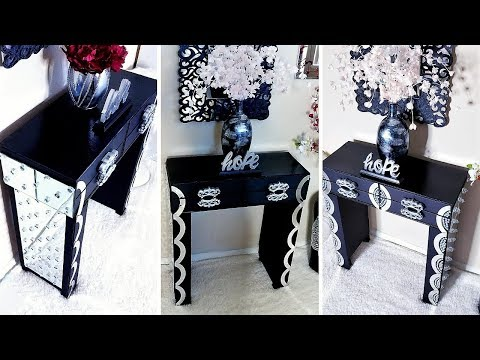 Diy Table From Dollar Tree Organizers| Inexpensive Home Decor Ideas!
