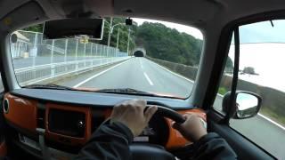 【SUZUKI Hustler】潮岬周遊道路【HX-A500】
