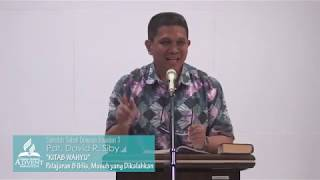 Sekolah Sabat Dewasa Triwulan 1 2019 Pelajaran 8 Iblis, Musuh yang Dikalahkan - Pdt. David Siby