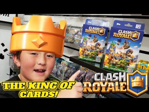 THE KING OF CARDS OPENS NEW CLASH ROYALE BOOSTER BOXES AND PACKS! RAREST CARDS IN THE WORLD!