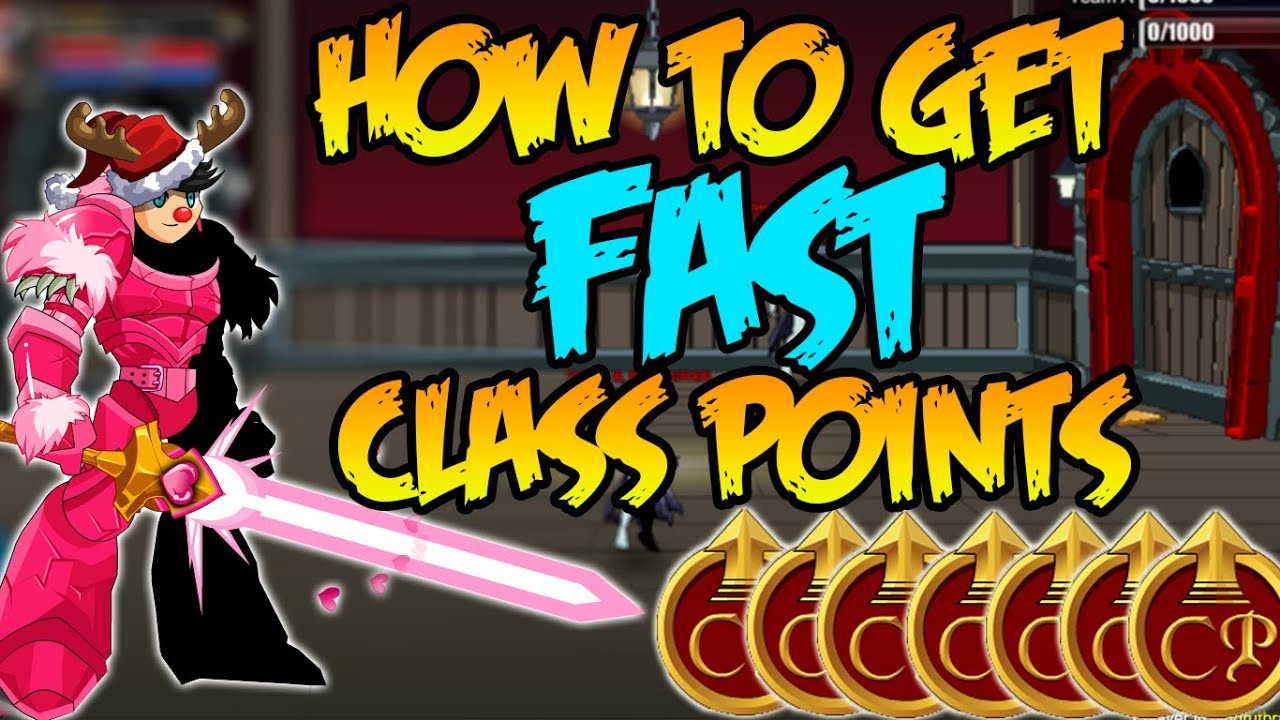 how to get easy classes in aqw