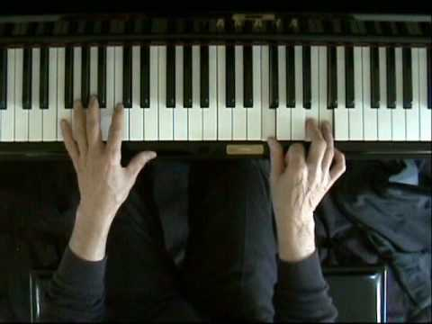 Learn blues piano lesson 6