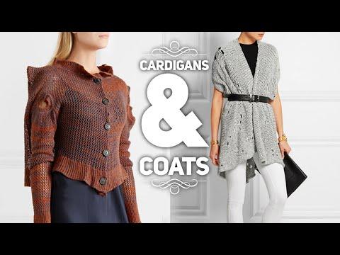 Вяжем кардиганы, пальто спицами и крючком / ОБЗОР / Knitting cardigans & coats
