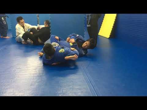 Knee lock vs leg drag Koji Shibamoto