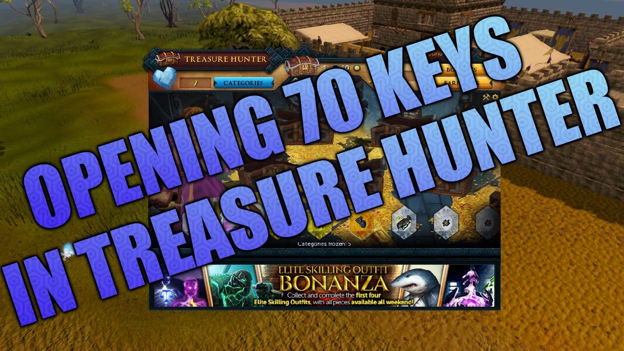 Runescape 3 Opening 70 Treasure Hunter Keys Youtube