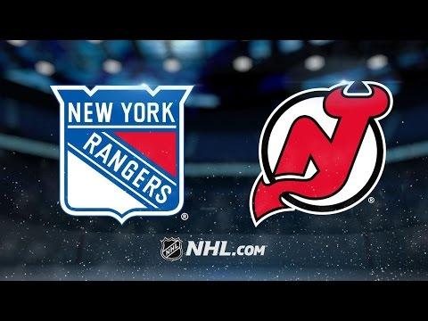 Zibanejad nets OT winner as Rangers beat Devils, 4-3