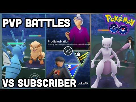 ProdigiesNation VS Poké AK PVP Battles in Pokemon GO   PVP battles VS subscriber thumbnail
