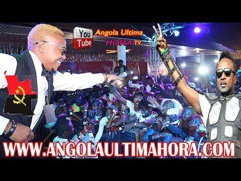 ANGOLA : DEPLICK POMBA PRINCE DE WENGE PREMIER CONCERT A LUANDA INTEGRALITÉ APRES 5 ANS D´ABSENCE