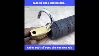 Cách mở ổ khóa không cần chìa khóa - mẹo vặt