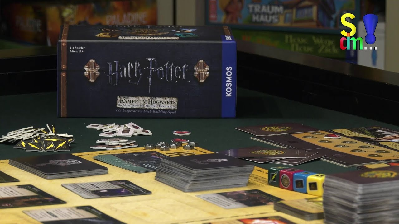 Video-Rezension: Harry Potter Kampf um Hogwarts - Die Monsterbox der Monster Erweiterung