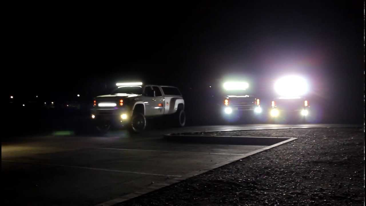 Rigid Industries LED Lights  2011 SEMA Show Builds  YouTube