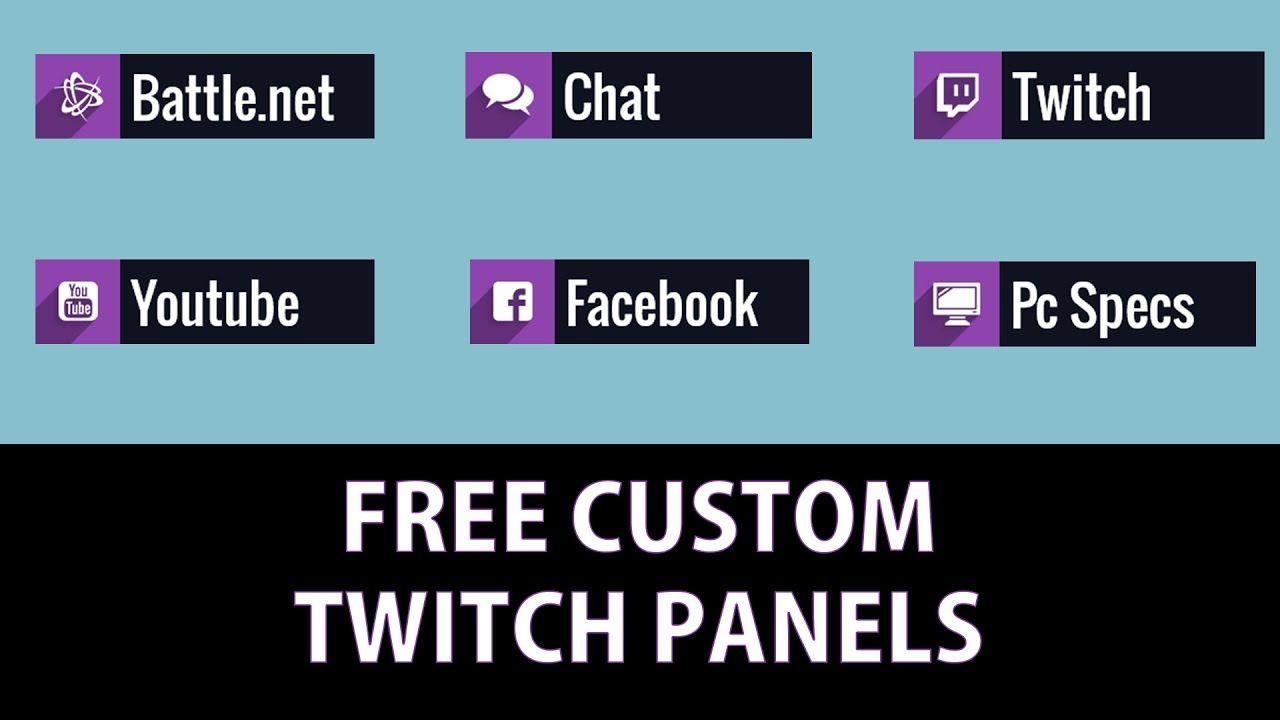 Twitch Panel Youtube – HD Wallpapers