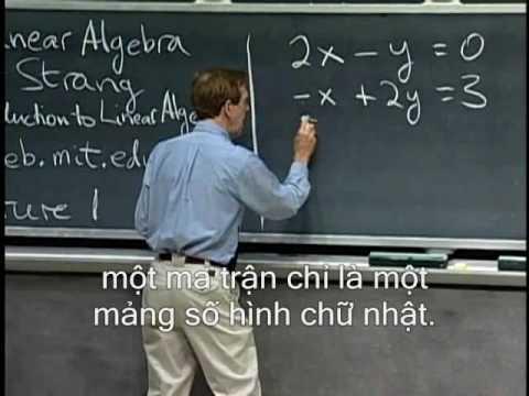 Chương I_1: Khía cạnh hình học của phương trình tuyến tính