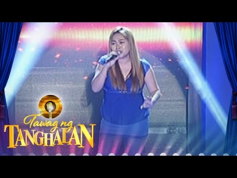 "Tawag ng Tanghalan: Michelle Jean Arcain - ""Run To You"""