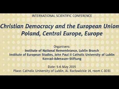 IPNtv Konferencje: Christian Democracy and the EU – part 1 panel 1 (ENG)