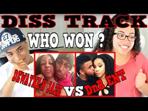 DISS Track On ALL YOUTUBE COUPLES DEWAYNE N JAZZ DnB ENT REACTION | MY DAD REACTS