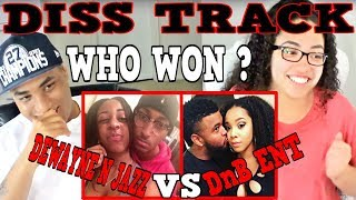DISS Track On ALL YOUTUBE COUPLES DWAYNE N JAZZ DnB ENT REACTION | MY DAD REACTS
