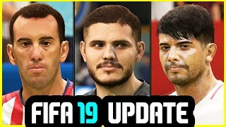 FIFA 19 NEW UPDATE - 42 FACES ADDED & GAMEPLAY FIXES