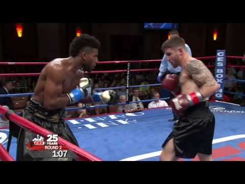 CES Boxing: Greg Vendetti vs Khiary Gray - June 9, 2017