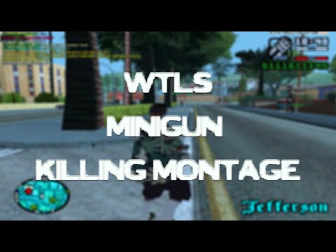 [SA-MP] WTLS MINIGUN KILLING MONTAGE