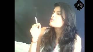 New VIP Smoking girl 054#-smoking fetish girl-pink lipstick girl smoking