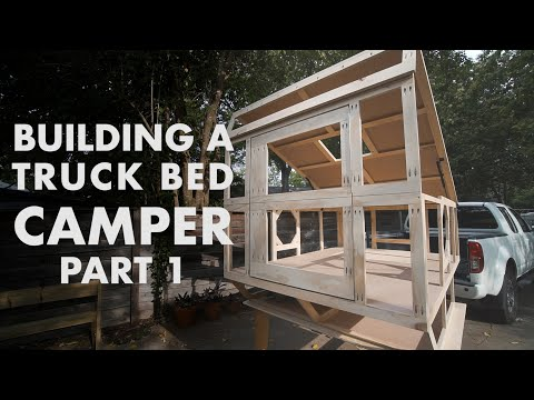 Building a Truck Bed Camper - Part 1: the Frame