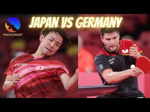 Table Tennis Tokyo Olympics 2020 - Japan vs Germany