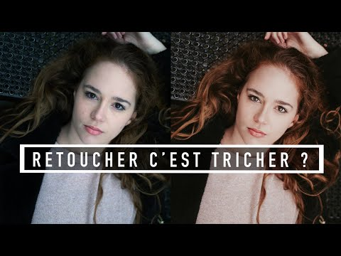 RETOUCHER  une PHOTO, c'est TRICHER ?