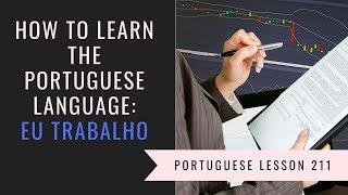 how to learn Brazilian Portuguese (at work)