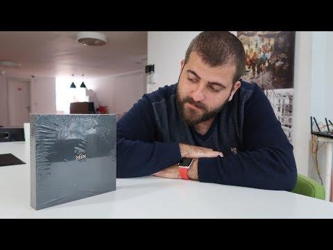 Tasarım harikası telefon kutusundan çıkıyor! - Xiaomi Mi Mix 2 kutu açılışı