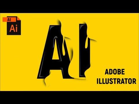 logo design illustrator cc | logo design illustrator cc 2018 | illustrator tutorial thumbnail