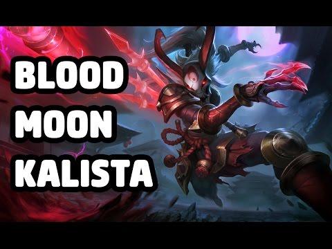 BLOOD MOON KALISTA SKIN SPOTLIGHT - LEAGUE OF LEGENDS