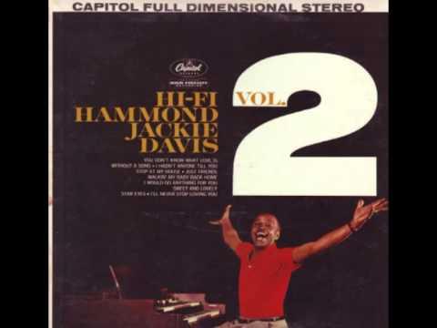 Jackie Davis - HiFi Hammond Vol. 2 (LP vinyl 1960)
